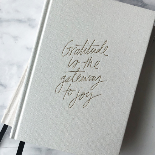 Blacklist Stationary Gratitude Journal NZ