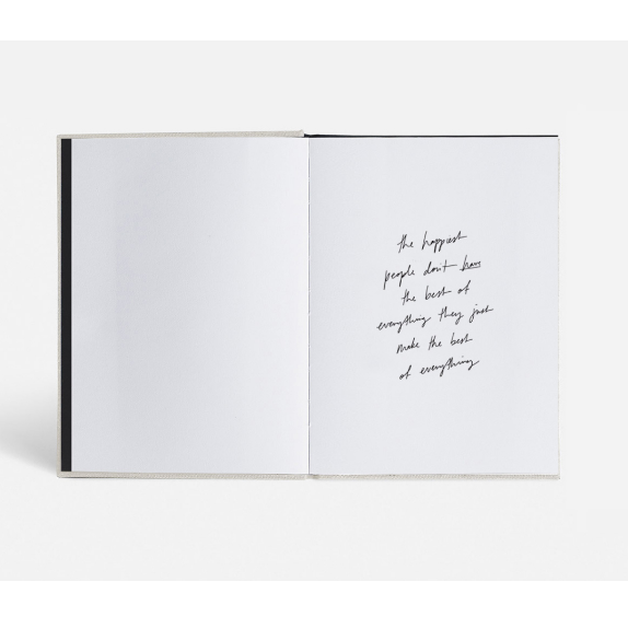 Blacklist Stationary Gratitude Journal quote