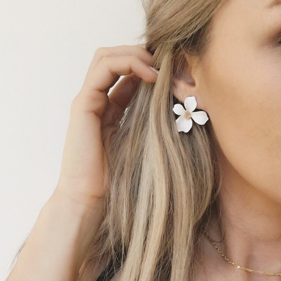 Bloom Flower Earrings NZ