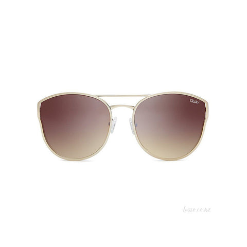 Quay sunglasses | Cherry Bomb GOLD