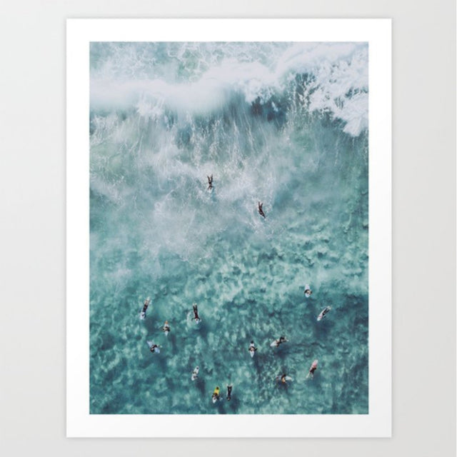 Art Print | In The Waves