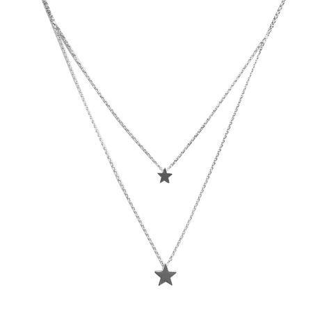 Necklace | Star Double Chain