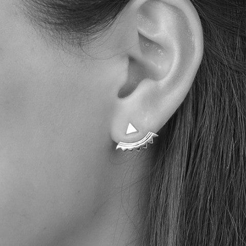 Sterling Silver Ear Jackets NZ