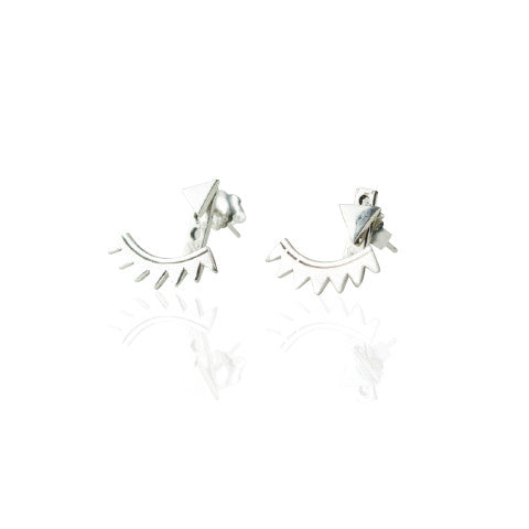 Earrings | Triangle Ear Jackets