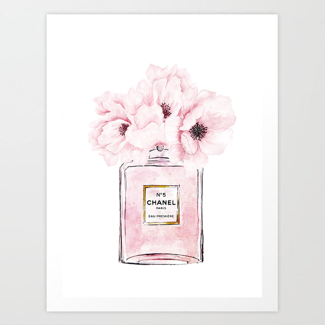 Fragrance Bottle Art Print