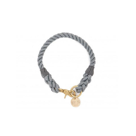 Berry Zoo | Dog Collar GREY GOLD