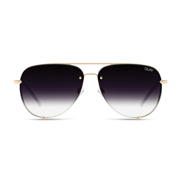 Quay High Key Rimless Gold Fade