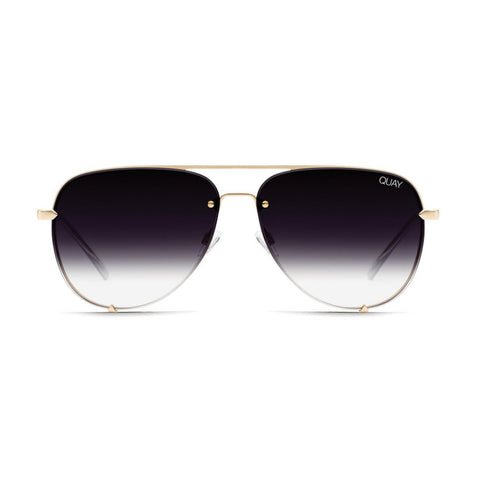 Quay sunglasses | High Key Rimless Fade
