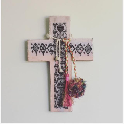 Jai Vasicek | Adah Blush Large Cross