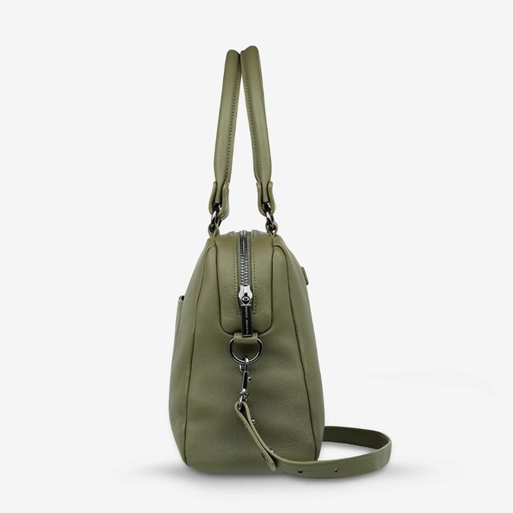 Side View Last Mountains Handbag