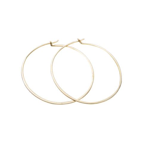 Earrings | Gold Hoops