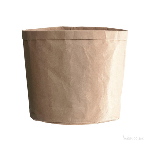 Planter Bag | Paper Bag Look KRAFT