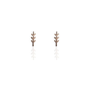 Long Arrow Earrings | ROSE GOLD