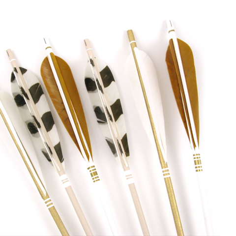 Decorative Arrows - Gold Xtra Talls
