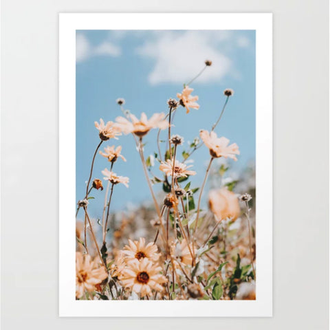 Art Print | Flower Fields
