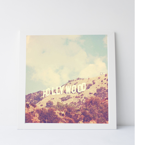 Photographic Print - Hollywood sign
