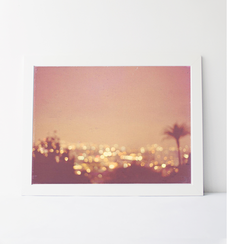 Large Photographic Print - Summer Nights