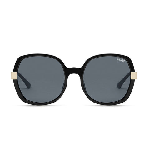 Quay sunglasses | Gold Dust BLACK