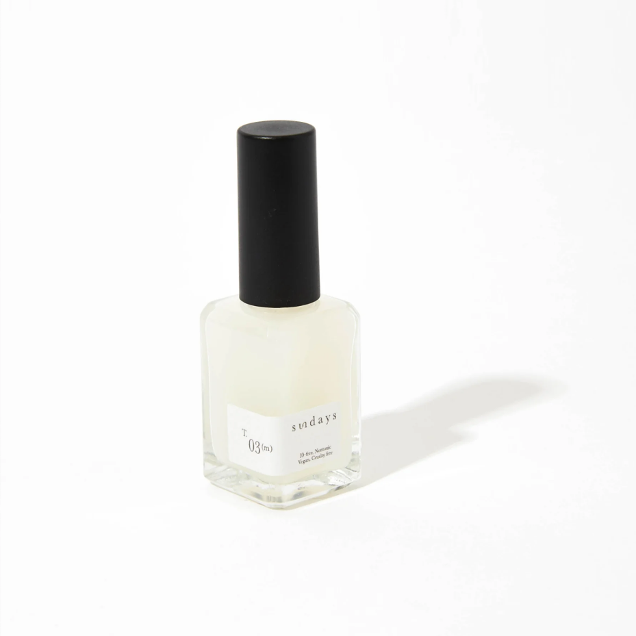 Sunday's Nail Polish | Matt Top Coat T03