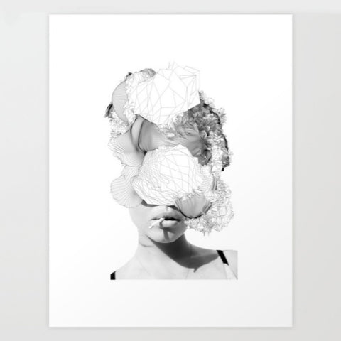Art Print | Lady Abstract
