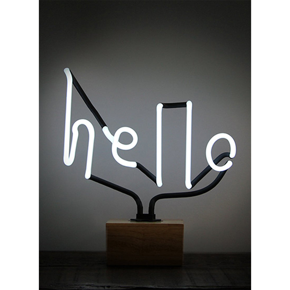 hello neon plug in light NZ