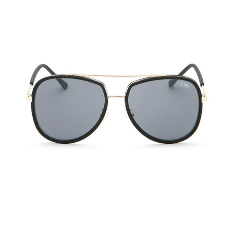 Quay sunglasses | Needing Fame Black/Smoke