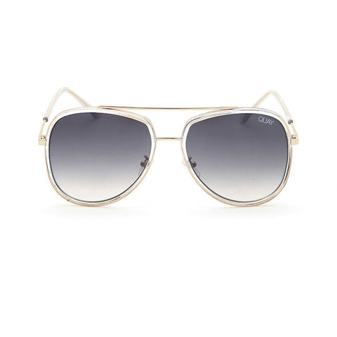 Quay sunglasses | Needing Fame Clear/Brown