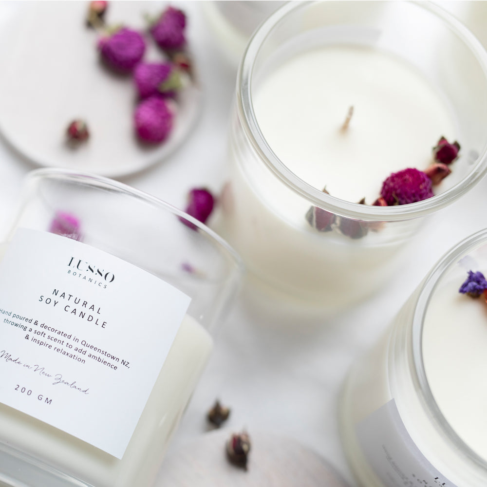 Soy Candle | Coconut Peach