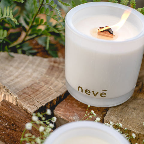 Nevé | Soy Candle PINK PEONY & PRESECCO