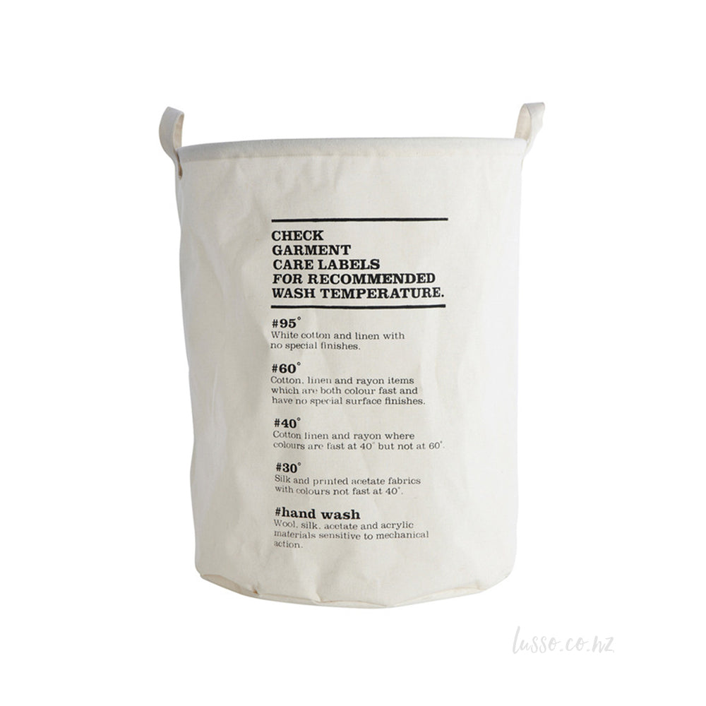 Large Modern Laundry Bag - House Doctor NZ