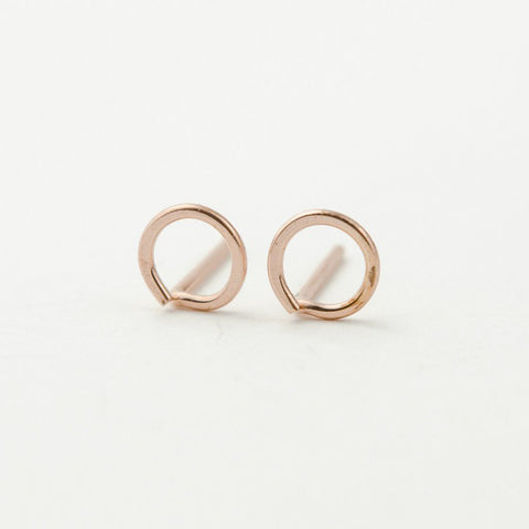 Earrings | Open Disc Studs