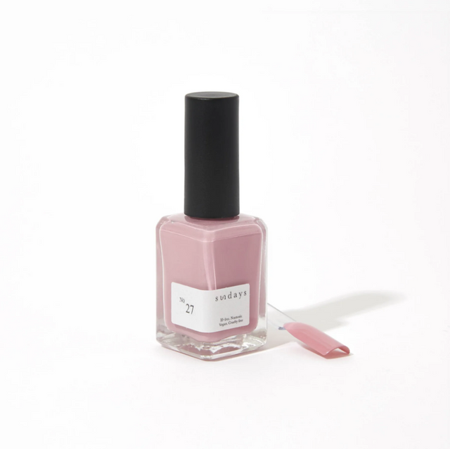 Sunday's Nail Polish | Powder Rose No27