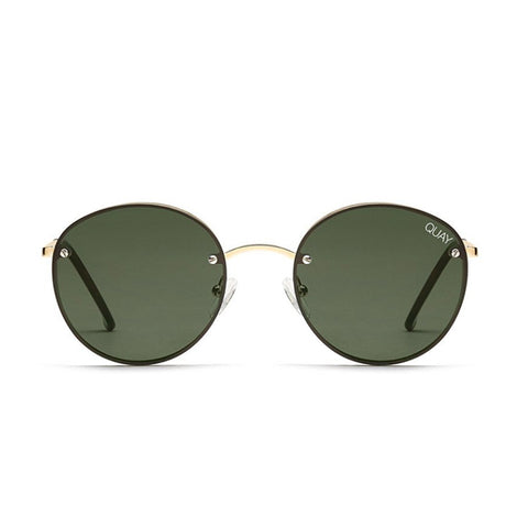 Quay sunglasses | Farrah GOLD/GREEN