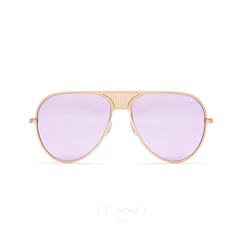 Quay Sunglasses | Iconic GOLD/PURPLE