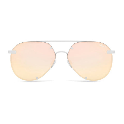 Quay sunglasses | Rebelle White Rose