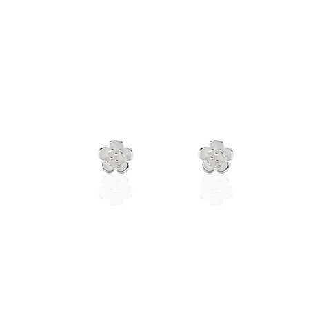 Stud Earrings | Single Bloom