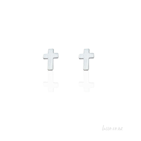Stud Earrings | Cross