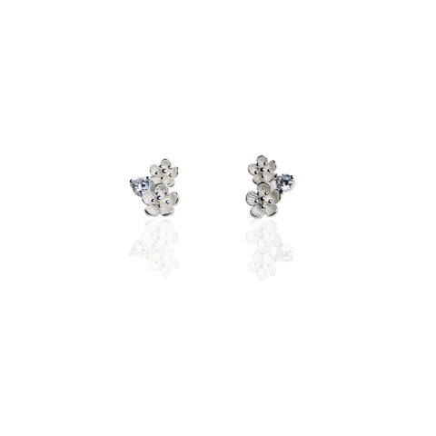 Stud Earrings | Double Bloom