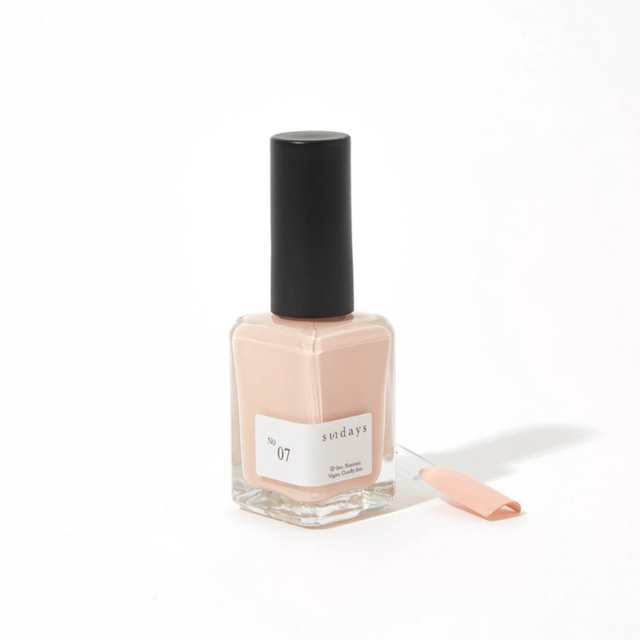 Sunday's Nail Polish | Beige Rose No7