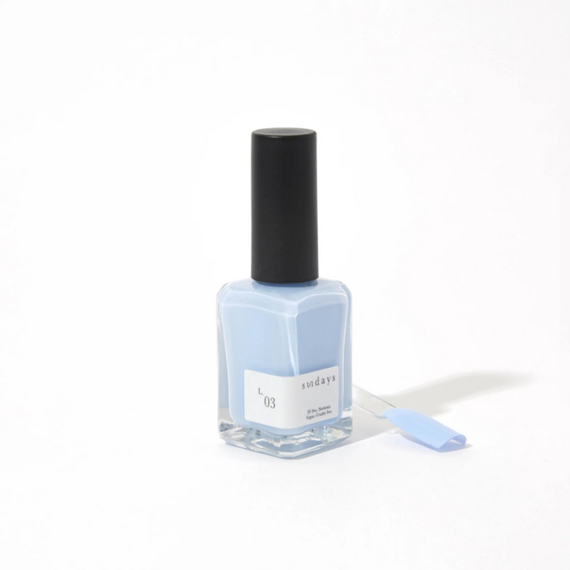 Sunday's Nail Polish | Pastel Blue L03