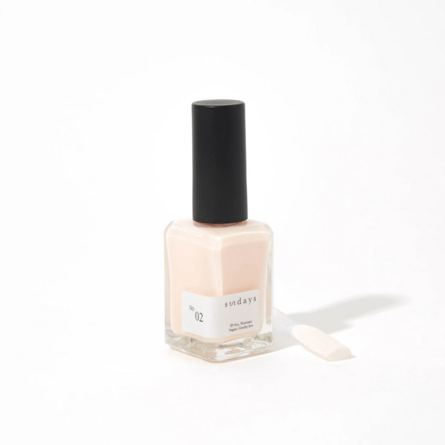 Sunday's Nail Polish | Semi-opaque Pink No2