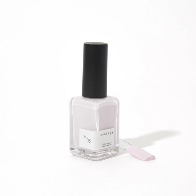 Sunday's Nail Polish | Light Lilac No5