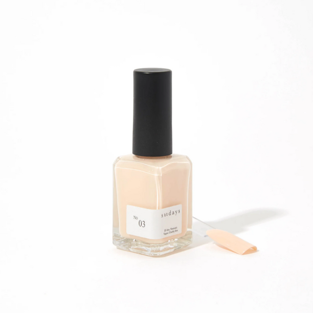 Sunday's Nail Polish | Opaque Cream Pink No3