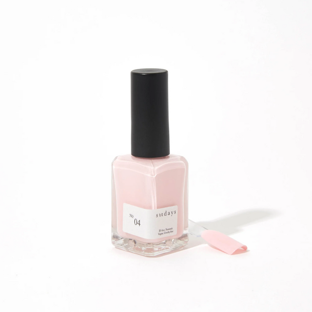Sunday's Nail Polish | Soft Baby Pink No4