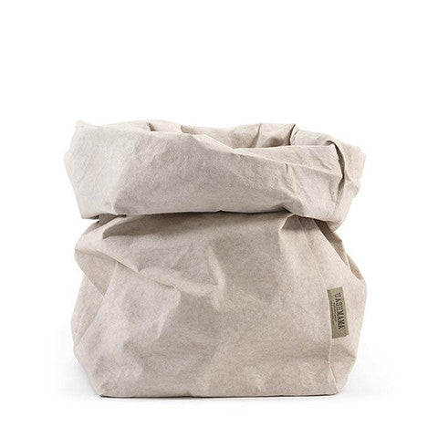 Uashmama Paper Bag - Grey