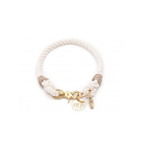 Berry Zoo | Dog Collar CREAM GOLD