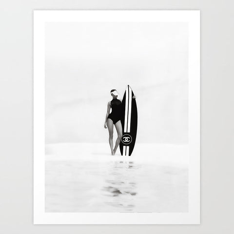 The Surfer | Art Print