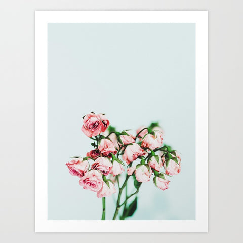 Rosy Bunch Art Print | Medium