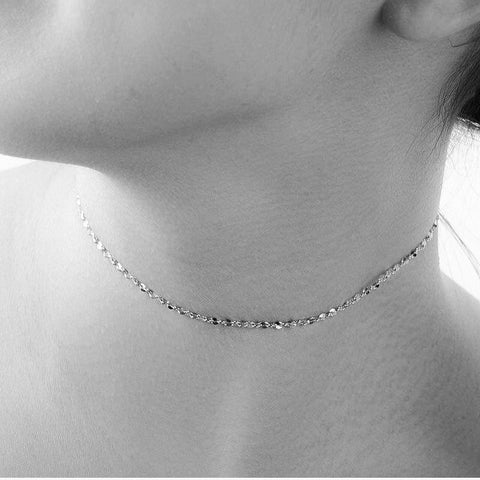 Necklace | Silver Choker