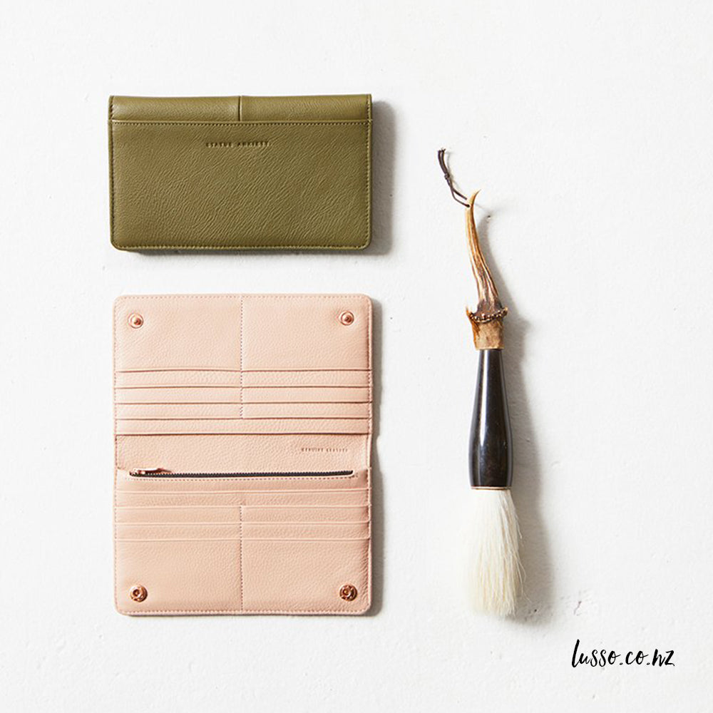 Status Anxiety | Triple Threat Wallet - Khaki